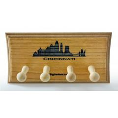 Cincinnati Skyline 2 Bat Display Rack
