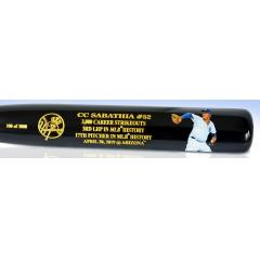 CC Sabathia 3,000 Strikeouts Art Bat