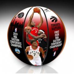 Raptors 1st Ever Eastern Conference Championship Art Ball