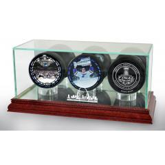 St. Louis Blues Stanley Cup Champions 3 Puck Set