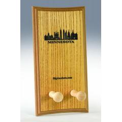 Minnesota Skyline Bat Display Rack