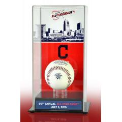 Official 90th MLB All-Star Game Rawlings Baseball in Art Case