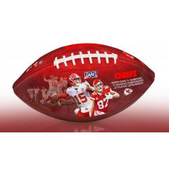 Kansas City Chiefs NFL 100th Legacy Art Football