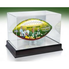 Green Bay Packers NFL 100th Legacy Art Football & Display Case