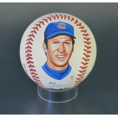 Glenn Beckert Signed & Hand Painted MLB Baseball
