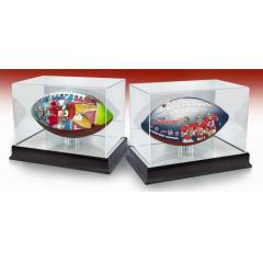 Jimmy Garoppolo SF Debut and SF NFL 100th Anniversary Art FB Set with Display Cases