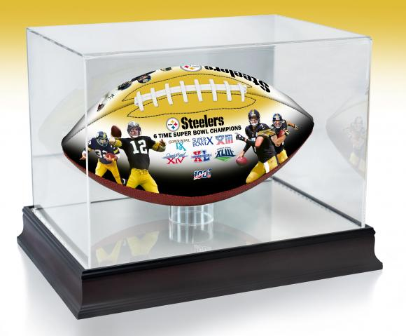 NFL 100TH ANNIVERSARY PITTSBURGH STEELERS  LEGACY  ART FOOTBALL JOLEEN JESSIE