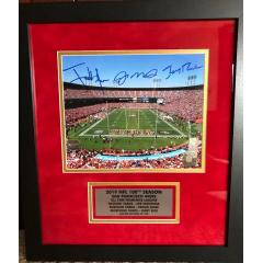 San Francisco 49ers NFL 100th Anniversary 8x10 Photo Presenation