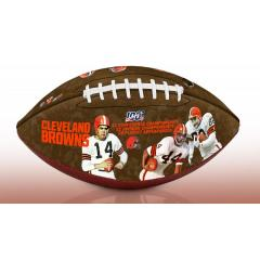 Cleveland Browns NFL 100th Legacy Art Football