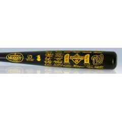 Nationals 2019 World Series Champions Louisville Slugger Team Signature Bat