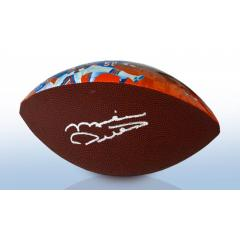 Mike Ditka Signed Bears NFL 100 Legacy Art Football