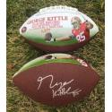 George Kittle Signed TE Receiving Yards Record Art Football