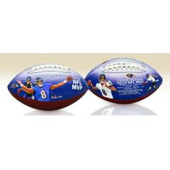 Lamar Jackson 2019 NFL MVP Art Football