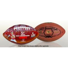 Chiefs Super Bowl LIV Football Set