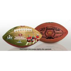 49ers Super Bowl LIV Football Set