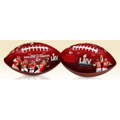 KC Chiefs Super Bowl LIV Champions Art Football
