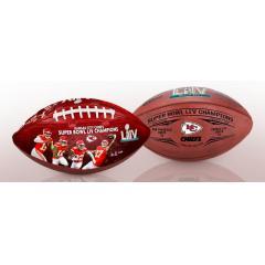 Chiefs Super Bowl LIV Champions Two Ball Set