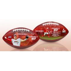 Patrick Mahomes II Super Bowl LIV MVP Art Football