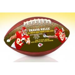 Travis Kelce All-Time NFL TE Records Art Football