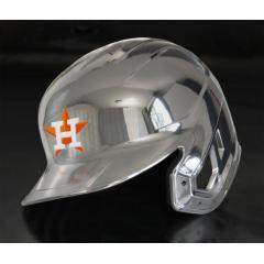 Astros Chrome Authentic Rawlings Replica Batting Helmet
