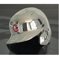 Cubs Chrome Authentic Rawlings Replica Batting Helmet