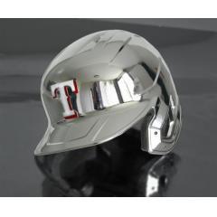 Rangers Chrome Authentic Rawlings Replica Batting Helmet