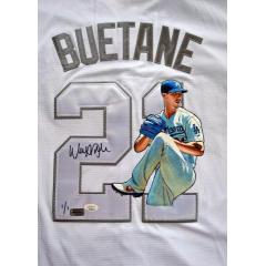 Walker Buehler Signed & Hand Painted Player's Weekend Jersey