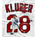 Corey Kluber Signed & Hand Painted Authentic Majestic Jersey