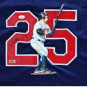 Jim Thome Signed & Hand Painted Indians Custom Home Jersey