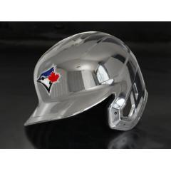 Blue Jays Chrome Authentic Rawlings Replica Batting Helmet