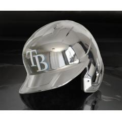 Rays Chrome Authentic Rawlings Replica Batting Helmet
