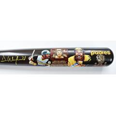 Dave Winfield Signed & Hand Painted Cooperstown Bat