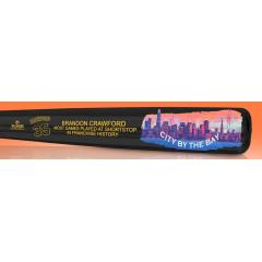 Brandon Crawford Most Games at SS in Franchise History Maple Art Bat