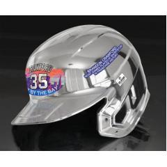 Brandon Crawford Most Games at SS Chrome Helmet
